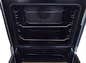 oven after clean